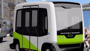 Førerløse busser kommer til Malta