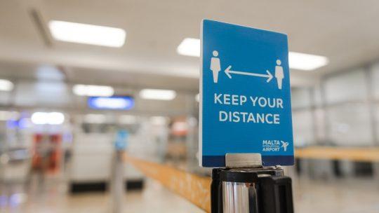 Maltas lufthavn nedbringer ventetiden