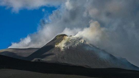Stort udbrud fra vulkanen Etna på Sicilien