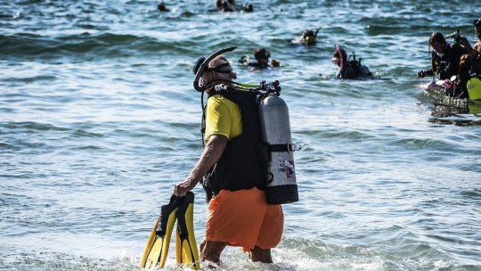 Undervandsoprydning i Senglea