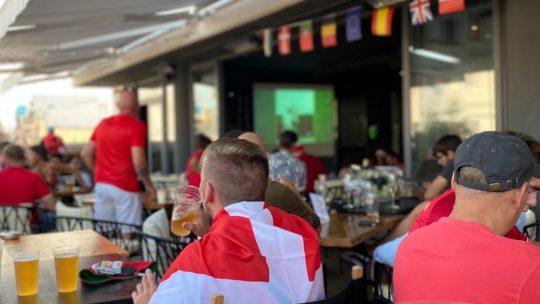 VM fodboldaften på SOHO i Gzira